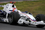 Robert Kubica, BMW Sauber F1 Team, F1.08 with new front wing