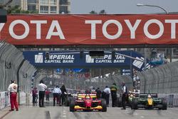 Cars take the grid
