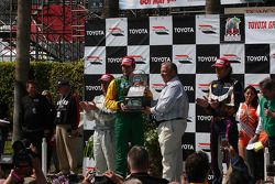 Podium: race winner Will Power