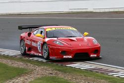 #12 JMB Racing Ferrari F430 GT3: Johan Rambeaud,Robert Hissom