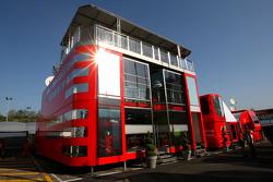 Scuderia Ferrari, Motorhome