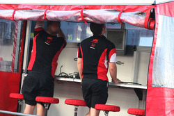 Super Aguri F1 Team mechanics