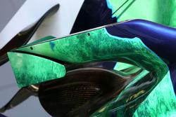 Honda RA108 wing detail