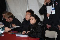 Autograph session: Danica Patrick