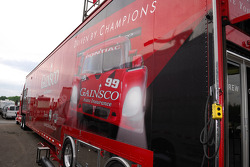 The GAINSCO Bob Stallings Racing transporter