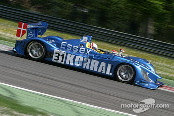 #31 Team Essex Porsche RS Spyder: Casper Elgaard, John Nielsen