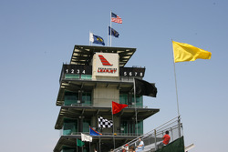 The Historical Pagoda at Indianapolis Motor Speedway