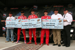 Front row check presentation