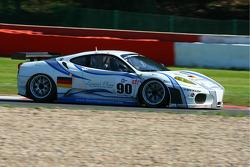 #90 Farnbacher Racing Ferrari F430 GT: Pierre Ehret, Pierre Kaffer in les Fagnes