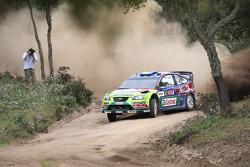 Jari-Matti Latvala and Miikka Anttila, BP Ford Abu Dhabi World Rally Team, Ford Focus RS WRC