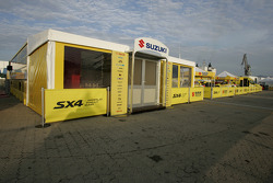 Suzuki World Rally Team hospitality