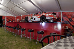The Jim Beam Hospitality tent