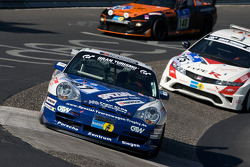 #87 Porsche 996 GT3 Cup: Rüdiger Klos, Robert Römer, Michael Irmgatz
