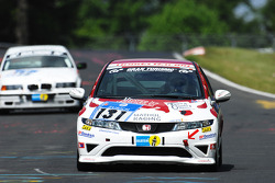 #131 Mathol Racing Honda Civic Type R: Berthold Bermel, Thomas Stoltz
