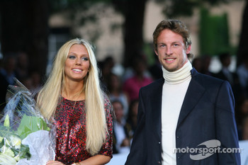 Petra Ecclestone, Daughter of Bernie Eccelestone and Jenson Button, Honda Racing F1 Team Amber Fashion which benefits the  Elton John Aids Foundation