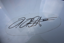 Signature of Heinz-Harald Frentzen on the Gumpert Apollo
