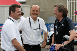 Dr. Wolfgang Ullrich and Daniel Poissenot share a laugh