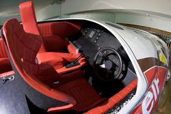 Colibri offshore powerboat cockpit