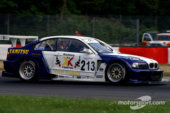 #213 Chad Peninsula Racing BMW GTR: Phil Keen, Jonathan Coleman