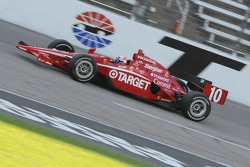 Dan Wheldon made it back on track in his spare