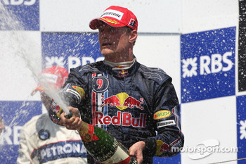 Podium: David Coulthard