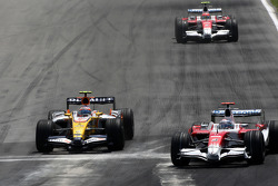 Nelson A. Piquet, Renault F1 Team, Jarno Trulli, Toyota Racing