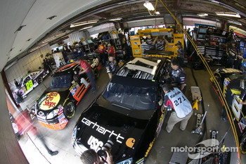 Garage area