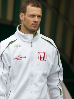 Alexander Wurz, Test driver Honda Racing F1 Team