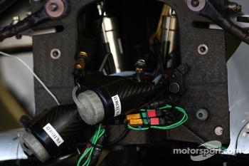 Force India F1 Team, VJM-01, detail