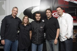 Dario Franchitti at the Guitar Hero VIP Party