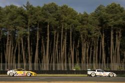 #73 Luc Alphand Aventures Corvette C6.R: Patrice Goueslard, Jean-Luc Blanchemain, Laurent Pasquali, #96 Virgo Motorsport Ferrari F430 GT: Tim Mullen, Robert Bell, Tim Sugden