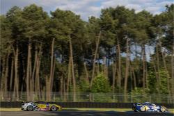 #85 Spyker Squadron Spyker C8 Laviolette: Peter Dumbreck, Ralf Kelleners, Alexei Vasiliev, #96 Virgo Motorsport Ferrari F430 GT: Tim Mullen, Robert Bell, Tim Sugden