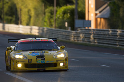 #63 Corvette Racing Corvette C6.R: Johnny O'Connell, Jan Magnussen, Ron Fellows