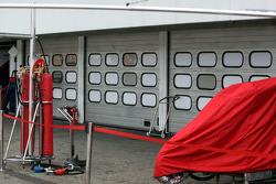 Closed doors at Ferrari