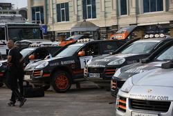Porsche service area in Kazan