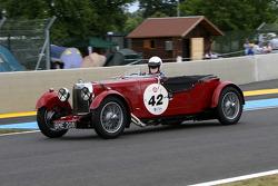 #42 Aston Martin Le Mans 1933: Philippe Lanternier
