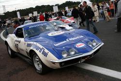 #65 Chevrolet Corvette 1971: Pascal Gaudard, Eric De Doncker