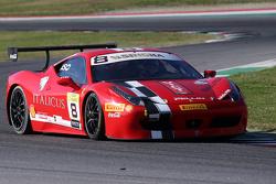 #8 Rossocorsa - Pellin Racing Ferrari 458: Dario Caso