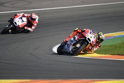 Andrea Iannone and Andrea Dovizioso, Ducati Team