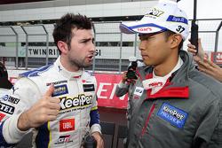 Andrea Caldarelli and Ryo Hirakawa, Lexus Team KeePer Tom's