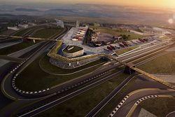 Luchtfoto van Circuit van Wales