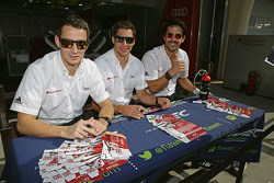Oliver Jarvis, Lucas di Grassi, Loic Duval, Oliver Jarvis
