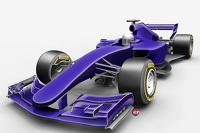 Formel-1-Designstudie für 2017