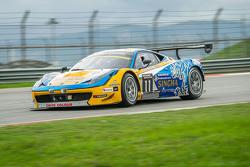 #11 Singha Motorsport Ferrari 458 GT3: Piti Bhirom-Bhakdi, Carlo van Dam, Alessandro Pier Guidi, Davide Rizzo