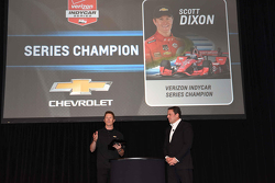 Scott Dixon talks about his championship, Chip Ganassi Racing
