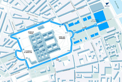 Paris ePrix track layout