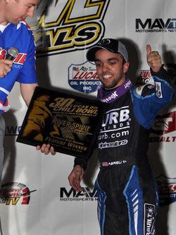 Winner Rico Abreu