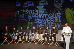 Paul Menard, Ty Dillon, Ryan Newman