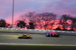 #4 Corvette Racing Chevrolet Corvette C7.R: Oliver Gavin, Tommy Milner, Marcel Fässler, #10 Wayne Taylor Racing Corvette DP: Ricky Taylor, Jordan Taylor, Max Angelelli, Rubens Barrichello