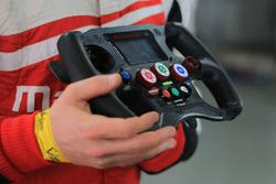 Mahindra Racing M2Electro steering wheel